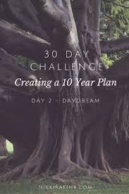 day challenge creating a year plan day