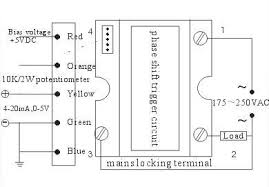full wave ac voltage controller single phase 220vac ssr la input and output graph wiring diagram