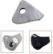 Lumiereholic 50pcs Double Air Bbreathing Valve <b>Dustproof Mask</b> ...