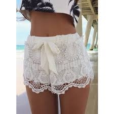Image result for lace shorts clothing