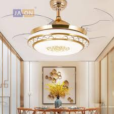 2019 <b>LED Modern Iron Acryl</b> ABS Remote Control Ceiling Fan LED ...
