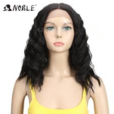 <b>Noble Hair</b> Synthetic Wigs <b>Lace Front</b> ombre Wig 16 Inch Medium ...