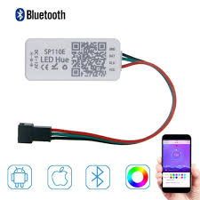 SP105E Magic Controller Bluetooth 4.0 <b>DC5</b>-<b>24V</b> 2048 <b>Pixels</b> for ...