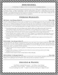 retail manager good resume  seangarrette coretail manager good resume
