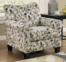 accent chairs white pattern