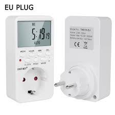 Big Discount #1098 - EU UK BR Plug Outlet Electronic Digital <b>Timer</b> ...
