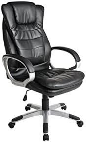 TECTAKE <b>LUXURY OFFICE CHAIR</b> WITH DOUBLE CUSHION ...