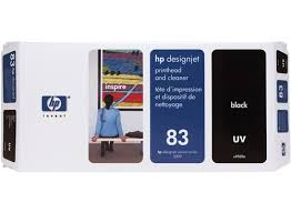 <b>HP 83 Black DesignJet</b> UV Printhead and Printhead Cleaner - <b>HP</b> ...