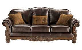 furniture t north shore: fascinating north shore leather sofa dark brown leather raleigh furniture photo of on style  dark brown leather couches