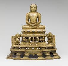 jain sculpture essay heilbrunn timeline of art history the meditation posture svetambara enthroned jina attendant yaksha and yakshi