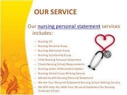 nursing personal statements