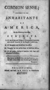 the pennsylvania center for the book articles of confederation title page of thomas paine s essay common sense
