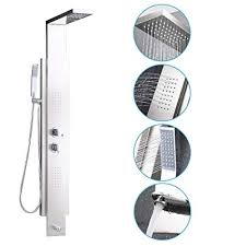 KES <b>SUS304 Stainless Steel</b> Rainfall <b>Shower</b> Panel Thermalstatic ...