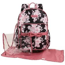 <b>Laura Ashley</b> Diaper <b>Bag</b> Backpack - Floral : Target