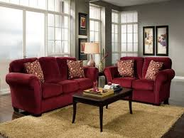 astounding design ideas of living room couch sets with maroon color couch and combine with brown astounding red leather couch furniture