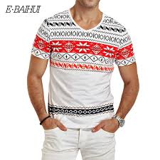 E BAIHUI brand mens t shirts fashion <b>printing</b> Clothing <b>Swag</b> Men T ...