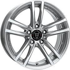<b>9x19</b> Wolfrace Eurosport X10x Polar Silver Alloy Wheels, Alloy ...
