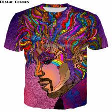 <b>PLstar CosmosNew Hippie Musician</b> T Shirt 3d colorful a groovy ...
