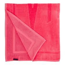 Пляжное <b>Махровое Полотенце</b> Однотонное, цвет: Розовый ...