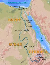 where is the mouth of the nile river located  Jiskha Homework Help http   www npr org programs day features      apr nile map jpg
