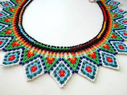(1) МК. <b>Колье</b> из бисера в технике уичоль. <b>Necklace</b> from <b>beads</b> ...