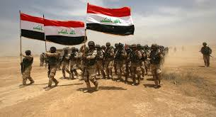 Image result for حشدالشعبی 200 تروریست داعش را در جریان تعقیب و گریز به هلاکت رساند