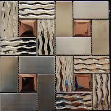 kitchen backsplash stainless steel tiles: stainless steel tile backsplash ssmt kitchen mosaic glass wall tiles free shipping d glass mosaics tiles