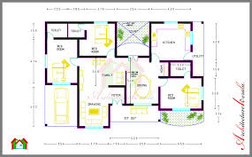 BED ROOM HOUSE PLAN WITH ROOM DIMENSIONS   ARCHITECTURE KERALA BED ROOM HOUSE PLAN WITH ROOM DIMENSIONS