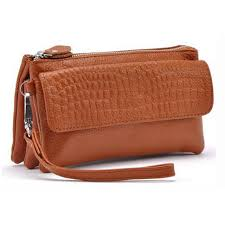 Online Shop <b>Zency</b> 100% <b>Genuine Leather Women</b> Standard Wallet ...