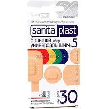 <b>Пластырь Sanitaplast</b> (<b>Санитапласт</b>) Универсальный ...