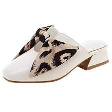 CularAcci Women <b>Fashion Low Heel Mules</b> Sandals: Amazon.co.uk ...