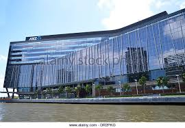 the global headquarters of anz bank on the yarra river in victoria harbour melbourne anz head office melbourne