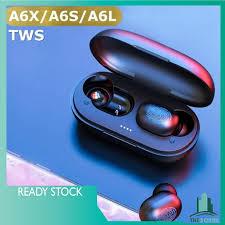 A6S / <b>A6L</b> / A6X TWS <b>Wireless Earphone</b> HiFi Bluetooth 5.0 Voice ...