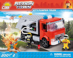 <b>City Pumper</b> Truck. COBI 1468. - <b>Конструкторы COBI</b>