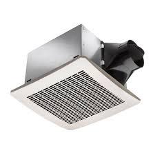 sensing bathroom fan quiet: delta breezsignature vfbaeh  cfm exhaust bath fan with humidity sensor bathroom fans amazoncom