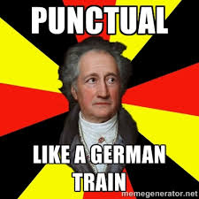 punctual like a german train - Germany pls | Meme Generator via Relatably.com