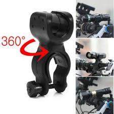 360 Swivel <b>MTB Bike</b> Torch Clip Mount <b>Bicycle Front Light</b> Bracket ...