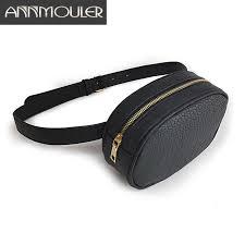 Annmouler Fashion Brand <b>Fanny Pack</b> High Quality Women <b>Waist</b> ...