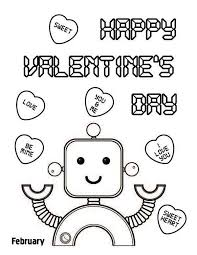 Small Picture Happy Valentines Day Coloring Pages Spectacular Happy Valentines