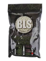 <b>Шарики пластиковые BLS</b> Tracer 0 2g 6mm (1kg) - ElfaBrest