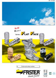 CAT GB MODELS. Series. Flat-face quick-release couplings. UNI ...