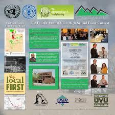 uimf hosts utah high school essay contest on family farming utah 14 04 08 essay contest big final