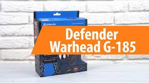 Распаковка <b>Defender Warhead G</b>-<b>185</b> / Unboxing Defender ...