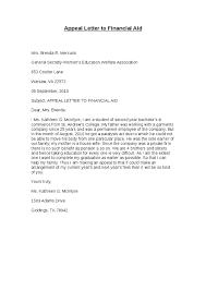 Financial Aid Appeal Letterstrog.net   strog.net Appeal Letter to Financial Aid Hashdoc 025rTxd4