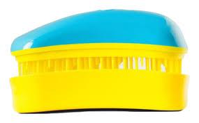 <b>Расческа для волос Hair</b> Brush Mini Turquoise-Yellow (бирюзовая ...