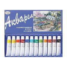 Краски акварельные художественные – профессиональная ...