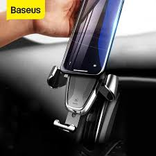 Baseus <b>Gravity</b> Car <b>Holder</b> For iPhone Samsung <b>Cell Phone Holder</b> ...
