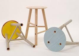 furniture designed using heavy cardboard tubes cardboard tubes