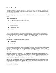 how to type a resume getessay biz how to type up a resume for a job for how to type a