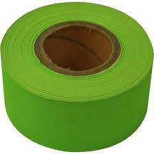 RAINBOW STRIPPING ROLL RIBBED <b>50mmx30m</b> Lime ...